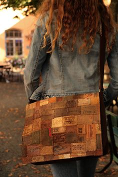 SALE  Leather messenger bag made of designer by WestDepartment, $185.00