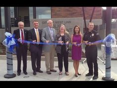 The city of West Linn cut the ribbon on its new police station on Aug. 11, 2014.