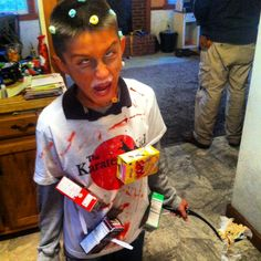 Coolest cereal killer diy costume cereal killer costume costumes masons cereal killer costume ccuart Choice Image