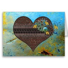 Shop Metal Steampunk and Aqua Valentine Holiday Card created by UponRequest. Valentine Greeting Cards, Valentine Gifts, Steampunk Heart, Metal Photo Frames, Steam Punk Jewelry, Valentines Design, Heart Ornament, Holiday Cards, Paper Texture