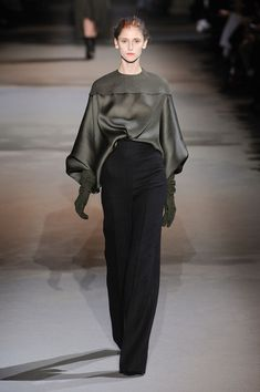Haider Ackermann Fall 2012 I love this entire collection