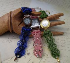 Macrame Watches - Forums - Beading Daily