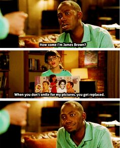 New Girl - I'm totally going to start doing this.