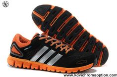 56641ac00bbc Latest Listing Discount Adidas Climacool CC Modulate M Black Orange Silver  Adidas Running Shoes