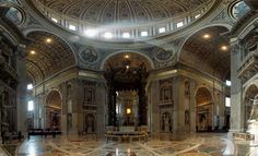 St.Peters Basilica, Christian church in Vatican