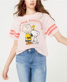 Mighty Fine Juniors' Peanuts T-Shirt