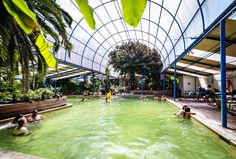 Indian Hot Springs, CO - Soak in our mineral water pool, caves or private baths, enjoy a massage and stay overnight on our package deal just 30m from Denver