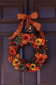 Fall Pine Cone Wreath Fall Wreath Pine Cone by CraftElegance