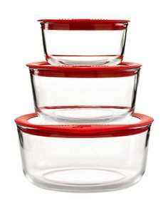 PYREX #glass #containers #lids BUY NOW!