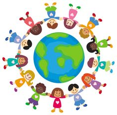 Christian Games, Activities and Bible Quizzes for Kids! Quizzes For Kids, Activities For Kids, Multi Cultural Crafts For Kids, Harmony Day, Cute Clipart, Thinking Day, Children Images, Printing Labels, Earth Day