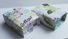 Origami box inside a box