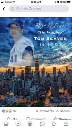 Ny Mets, Rest In Peace, Movies, Movie Posters, Films, Film Poster, Cinema, Movie, Film