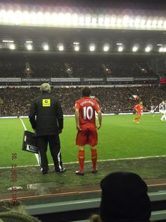 Philippe Coutinho makes his Liverpool FC debut. #LFC