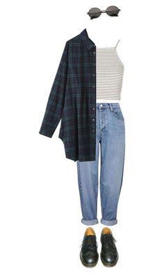 Mine Dr Martens Fashion Martens Vintage Outfits, Retro Outfits, Grunge Outfits, Grunge Fashion, 80s Fashion, Cute Casual Outfits, Look Fashion, Korean Fashion, Fall Outfits