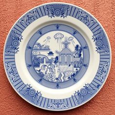 Calamityware Plate 4: UFO Invasion
