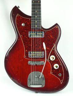 Novo Guitars Harmony Burst Serus J