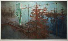 "Saatchi Online Artist Piers Greville; Painting, ""Fog Of More"" #art"