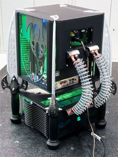 Some of the best PC Mods ever made, PC mods are a way of life. Build A Pc, Gaming Pc Build, Computer Build, Gaming Computer, Pc Cases, Custom Computer Case, Custom Computers, Custom Pc, Custom Cases