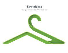 """다음 @Behance 프로젝트 확인: """"Stretchless Hanger Concept"""" https://www.behance.net/gallery/7698231/Stretchless-Hanger-Concept"""