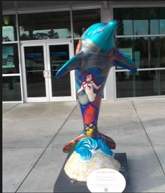 Sea Jewels & Love may be seen at the Clearwater Regional Chamber of Commerce office at 600 Cleveland Street, Suite 200, Clearwater.