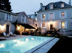 Maison bourgeoise Niort Villas, French Provincial Home, Fireplace Kits, French Villa, Rural House, House Landscape, French Country House, Stone Houses, Next At Home