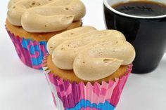 Coffee Butter Cream Frosting - A traditional butter cream frosting recipe with a deep coffee flavor. Pairs well with vanilla and chocolate cakes and cupcakes.