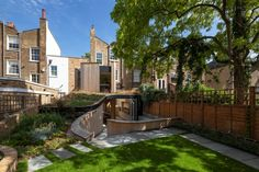 De Beauvoir Road House by Scott Architects.  Something about this outdoor area is charming.