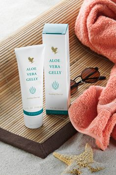 Can be used as a topical preparation  to calm irritated skin and help to reduce  scar formation. Essentially identical to  the aloe vera's inner leaf, Forever's 100% stabilised Aloe Vera Gelly lubricates sensitive tissue safely.