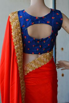 Ideas For Embroidery Quotes Website Brocade Blouse Designs, Saree Jacket Designs, Pattu Saree Blouse Designs, Designer Blouse Patterns, White Shirts Women, Blouses For Women, Simple Hairstyle For Saree, Stylish Blouse Design, Indian Designer Wear