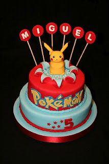 Pokémon cake. Z would love this