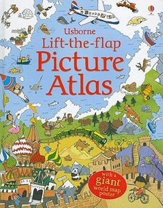 Lift-The-Flap Picture Atlas 912 USB
