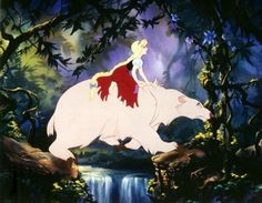 From a shelved Don Bluth version of East of the Sun, West of the Moon