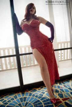 Lots of Jessica Rabbit costume/cosplay tips and ideas