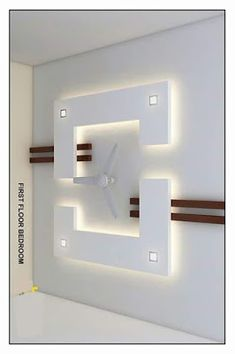 board ceiling (AZHAR-EMPIRE) Gypsum Board Ceiling (gyp board): Gypsum is the most commonly used false ceiling material. Simple False Ceiling Design, Gypsum Ceiling Design, Interior Ceiling Design, House Ceiling Design, Ceiling Design Living Room, False Ceiling Living Room, Ceiling Light Design, Home Ceiling, Wall Design