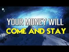 Abraham Hicks 2017 - Your Money will Come and Stay - YouTube