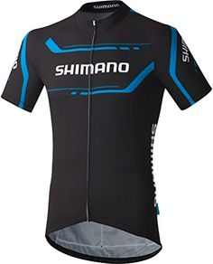 Shimano Performance Printed Short Sleeve Jersey Medium Black * Check this awesome product by going to the link at the image.