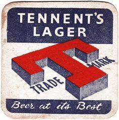 Searching around for some nice type for beer mats. Vintage Packaging, Vintage Branding, Vintage Labels, Sous Bock, British Beer, Beer Mats, Matchbox Art, Coaster Design, Beer Coasters