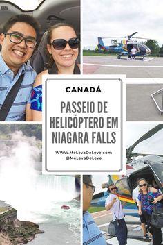 O passeio de helicóptero em Niagara Falls é simplesmente incrível. Ver as cataratas do alto é uma emoção que você precisa viver.  Passeio de helicoptero em Niagara Falls. Leia mais no blog...