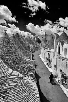 """Photo """"alberobello street"""" by Luigi Chiriacò."""