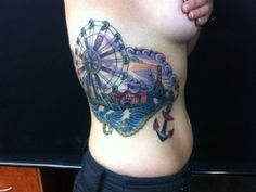 Carnival tattoo