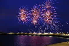 Christmas Fireworks on the East Pier 2014