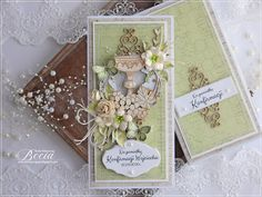 Blog sklepu CraftyMoly : KARTKA NA KONFIRMACJĘ Cute Cards, Scrapbooking, Gift Wrapping, Blog, Gifts, Gift Wrapping Paper, Presents, Pretty Cards, Wrapping Gifts