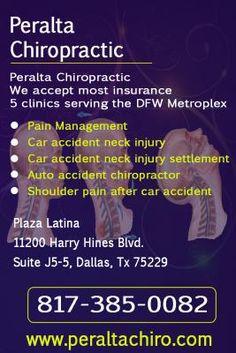 Peralta Chiropractic, Car accident