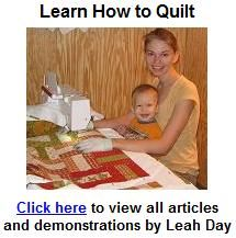 how to quilt | day style designs