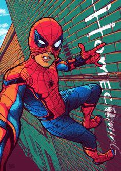 Spider-Man: Homecoming by Ryan Smallman