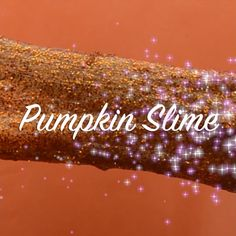 14 Halloween Ideas: PSST The Glitter Pumpkin Slime is Our Favorite