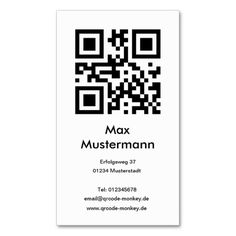 Photographer Photography Qr Barcode Business Card Template Code Cards Pinterest