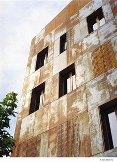 Logements sociaux à Schaerbeek / Mario Garzaniti / Wallonie-Bruxelles Architectures