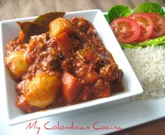Guiso de Cordero or Lamb Stew Colombian Cuisine, Colombian Recipes, Lamb Stew, Learn To Cook, Chicken Wings, Main Dishes, Healthy Recipes, Healthy Foods, Beef