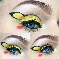 Neuer Hype im Netz: Pokemon-Make-Up #Pikachu #makeup